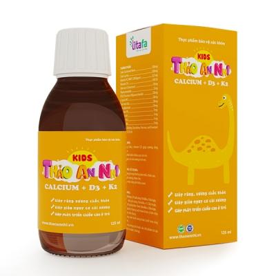 THẢO AN NHI CALCIUM + D3 + K2 (chai 125 ml)